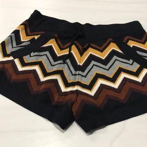 Missoni for Target Knit Cozy Shorts Chevron Medium